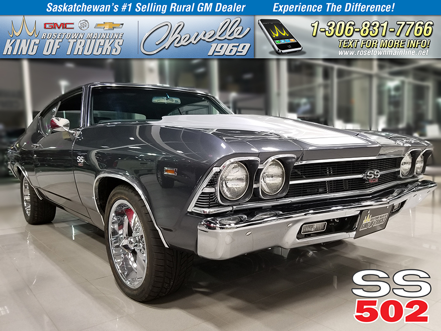 Pre-Owned 1969 Chevrolet Chevelle SS 502 Ram Jet | Fully Restored