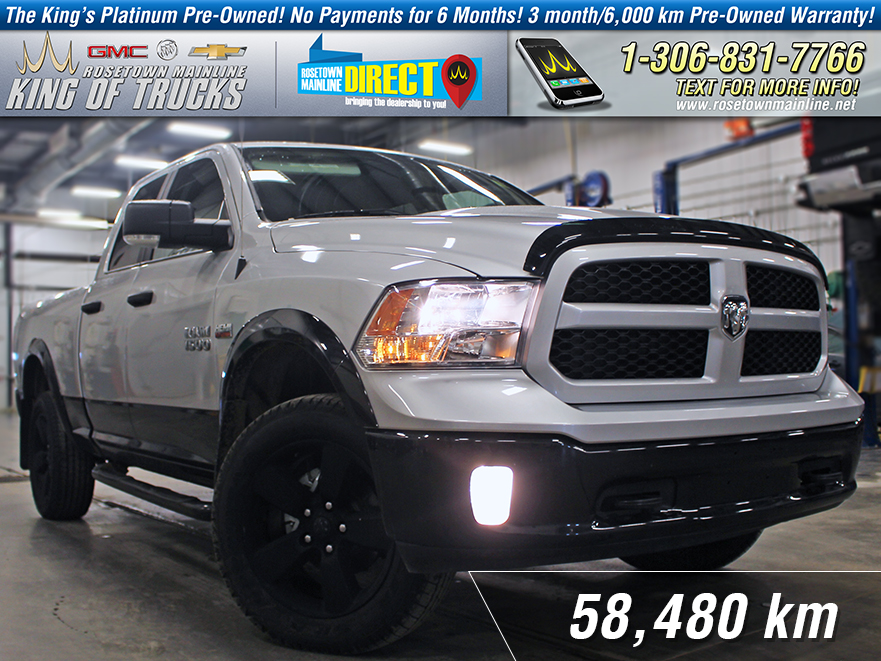 Pre-Owned 2016 Ram 1500 Outdoorsman Low KM