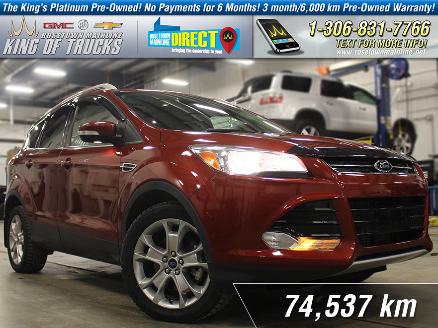 Pre-Owned 2015 Ford Escape Titanium AWD