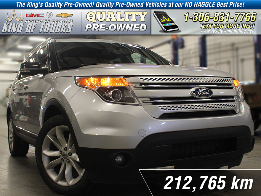 Pre-Owned 2011 Ford Explorer XLT Heated Seats | 4-Wheel Drive