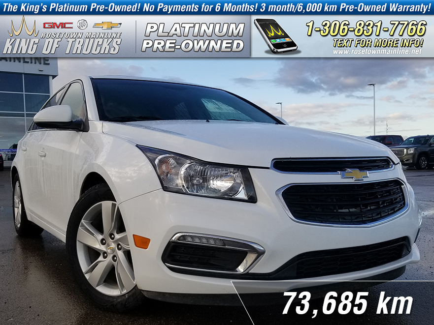 Pre-Owned 2015 Chevrolet Cruze Diesel Local | One Owner | Leather