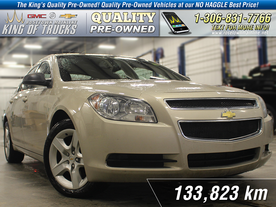 Pre-Owned 2011 Chevrolet Malibu LS New Brakes