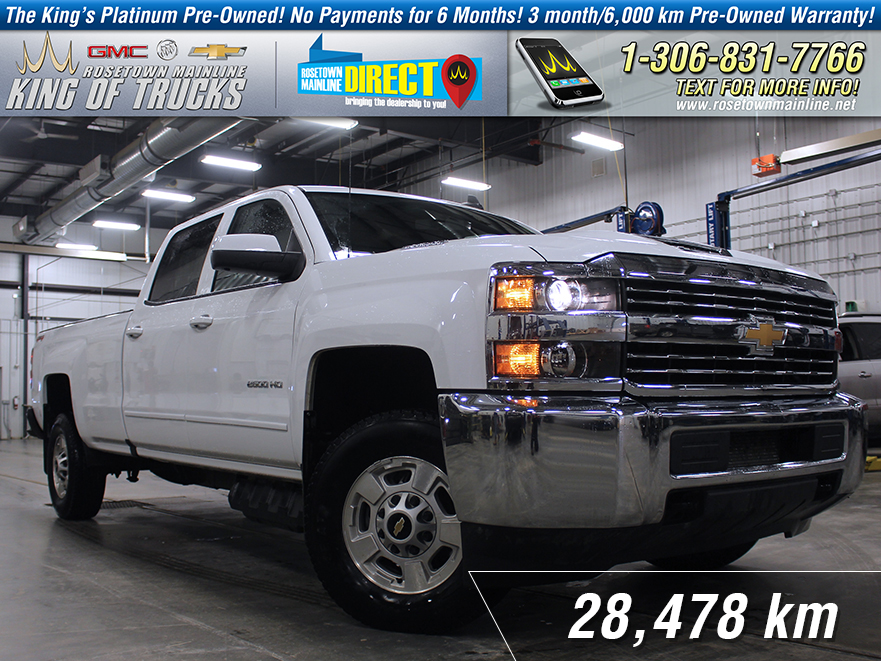 Pre-Owned 2017 Chevrolet Silverado 2500HD LT 6.6L | Long Box | Low KM