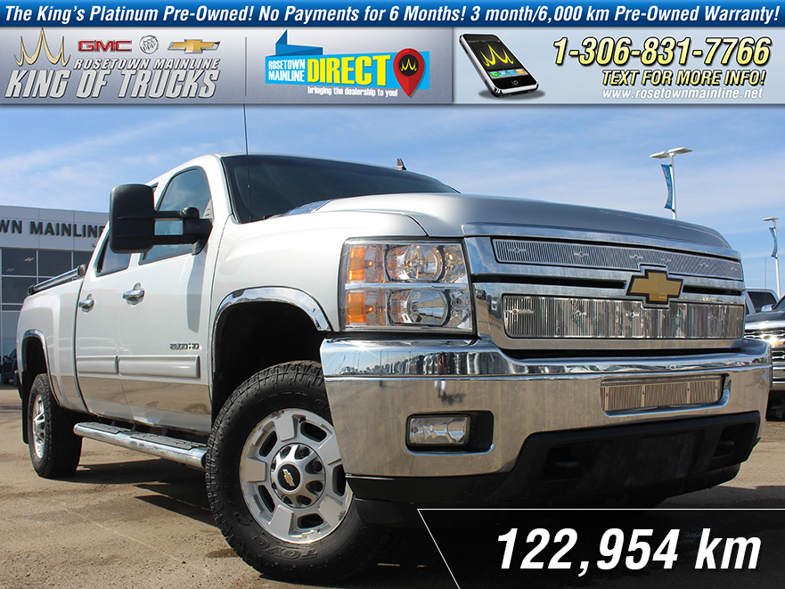 Pre-Owned 2012 Chevrolet Silverado 2500HD LT Leather | 6.6L Duramax