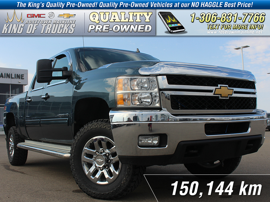 Pre-Owned 2012 Chevrolet Silverado 2500HD LT 6.6L | Spray-In Liner