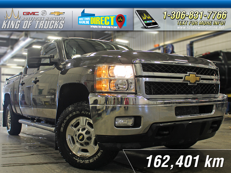 Pre-Owned 2011 Chevrolet Silverado 2500HD LT 6.6L | New Tires