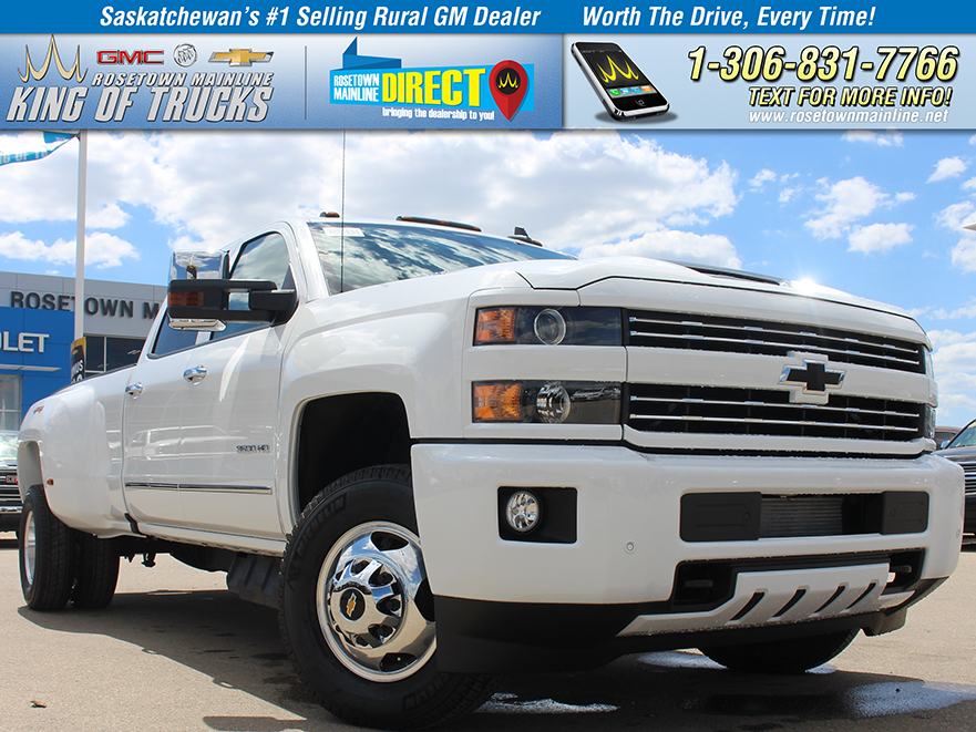 New 2018 Chevrolet Silverado 3500HD LT