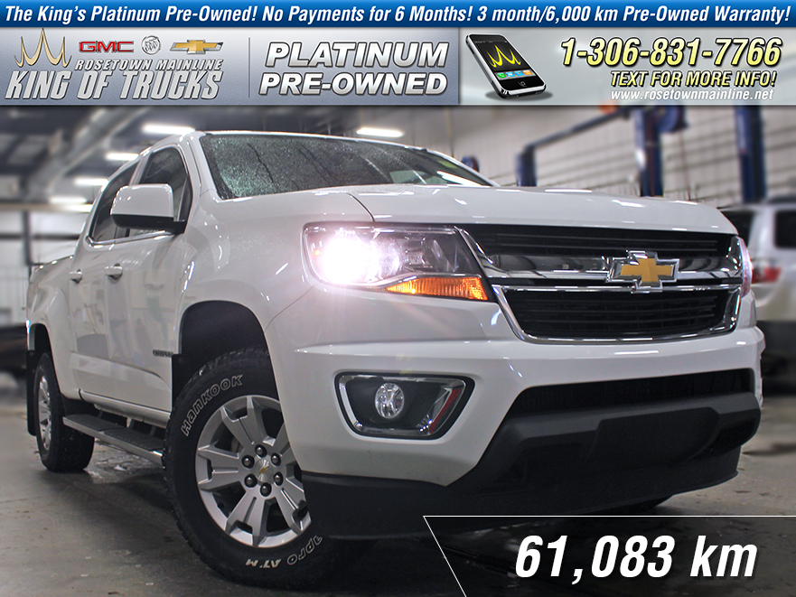 Pre-Owned 2015 Chevrolet Colorado 4WD LT One Owner | Wi-Fi