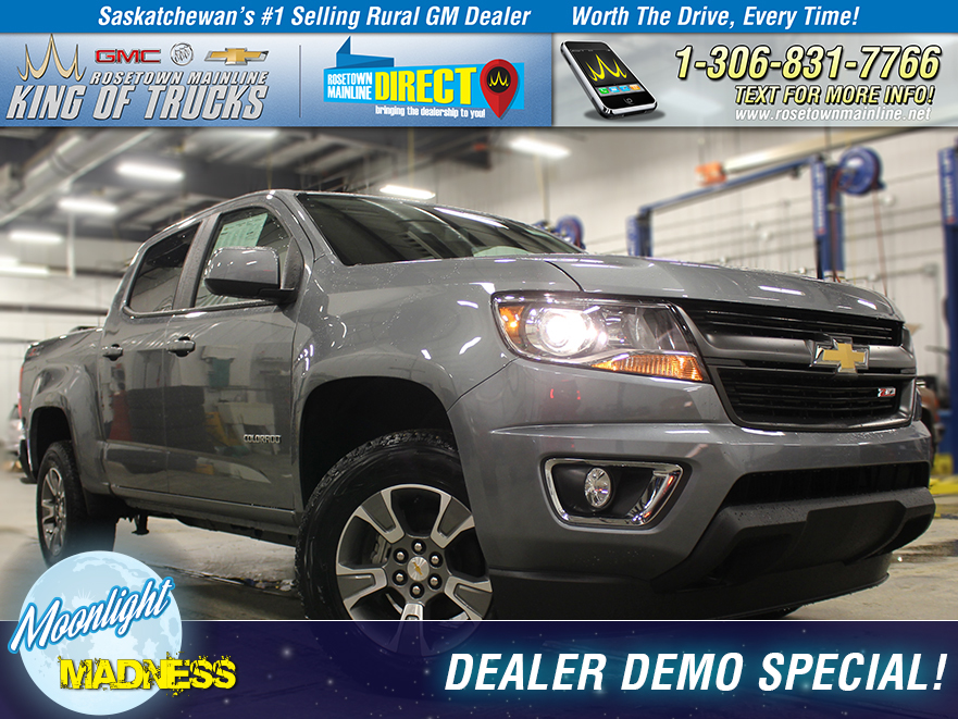 New 2018 Chevrolet Colorado Z71 Dealer Demo Special!