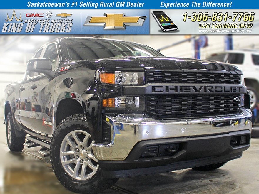 New 2019 Chevrolet Silverado 1500 X-Edition