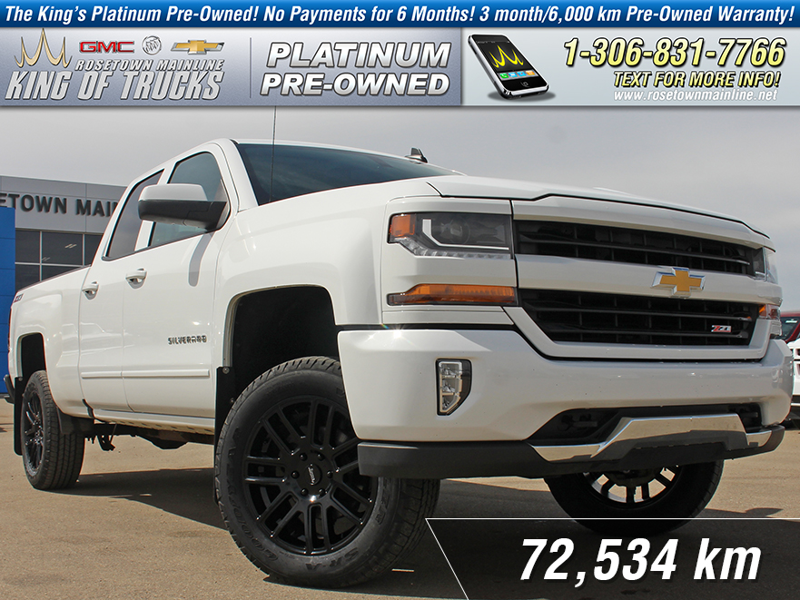Pre-Owned 2017 Chevrolet Silverado 1500 LT Lifted | Leather | Aftermarket Rims