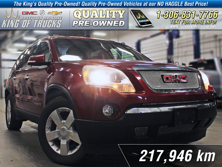 Pre-Owned 2007 GMC Acadia SLT1 Leather | Sunroof | DVD