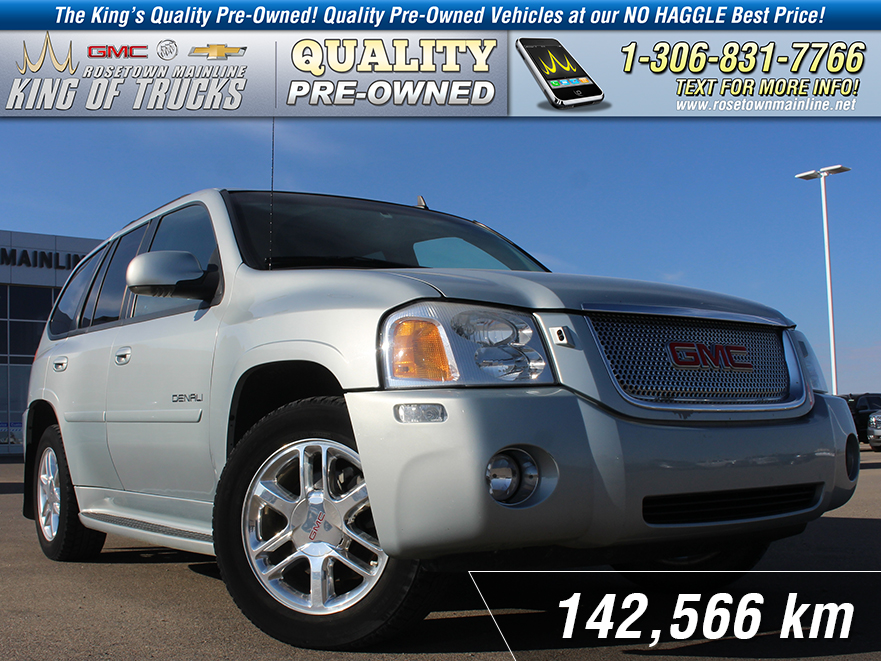 Pre-Owned 2008 GMC Envoy Denali Local | Leather | Heated Seats