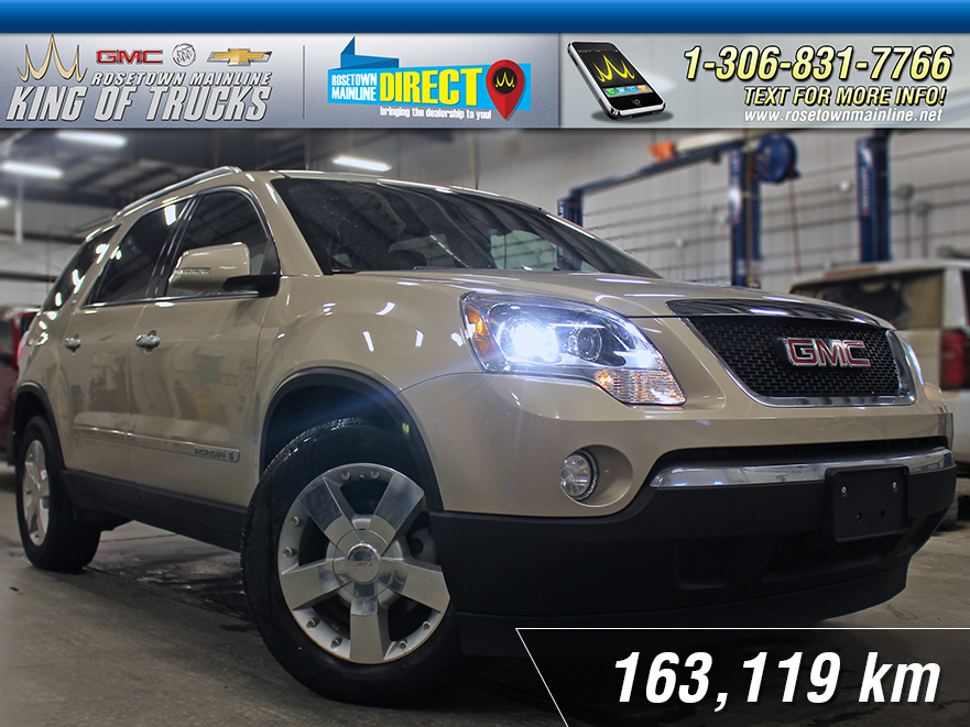 Pre-Owned 2008 GMC Acadia SLT Sunroof | DVD | PST Paid AWD