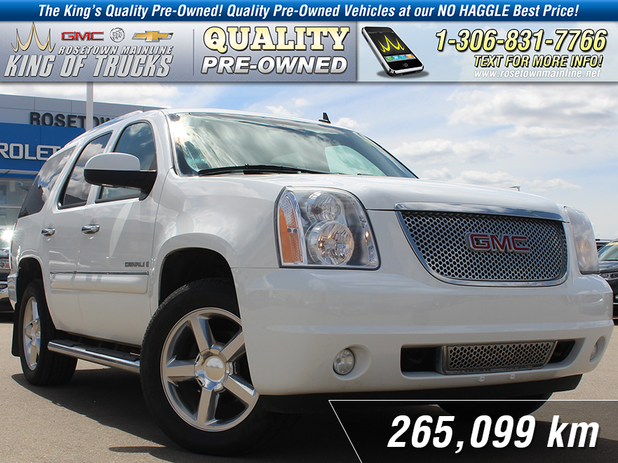 Pre-Owned 2007 GMC Yukon Denali Leather | DVD | Sunroof