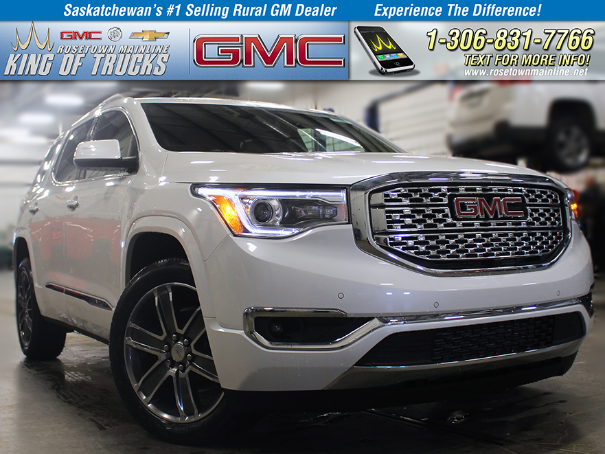 New 2019 GMC Acadia Denali