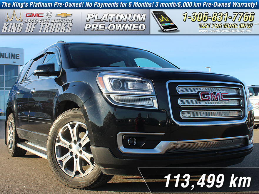 Pre-Owned 2013 GMC Acadia SLT1 Leather | DVD | Sunroof