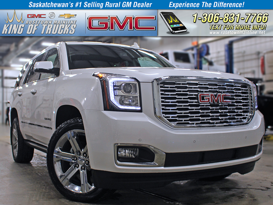 New 2019 Gmc Yukon Denali Suv In Saskatchewan 61928 Rosetown Mainline