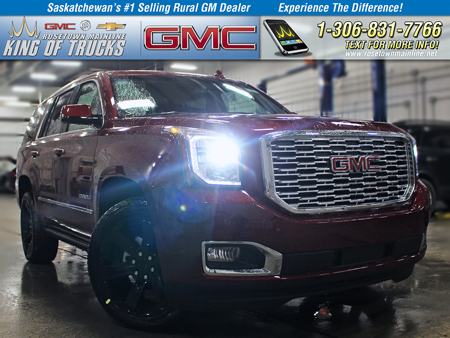 New 2019 Gmc Yukon Denali Suv In Saskatchewan 62161 Rosetown Mainline