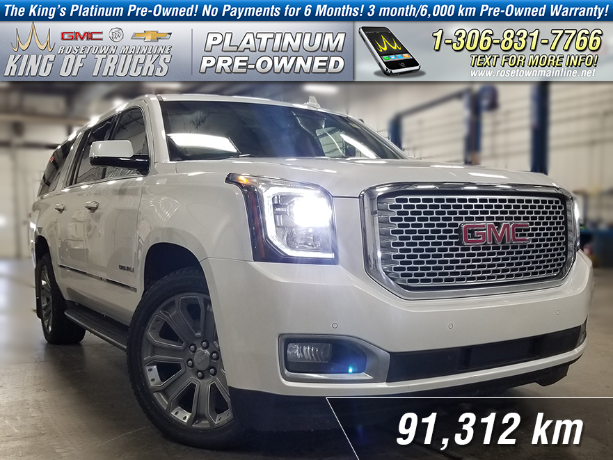 Pre-Owned 2016 GMC Yukon XL Denali One Owner | Local | Nav