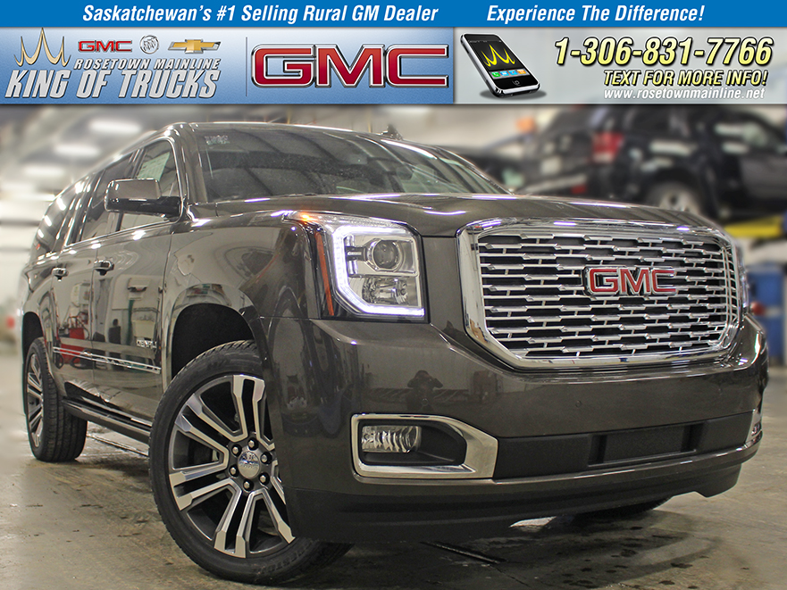 New 2019 Gmc Yukon Xl Denali Includes Xpel Paint Protection Suv In