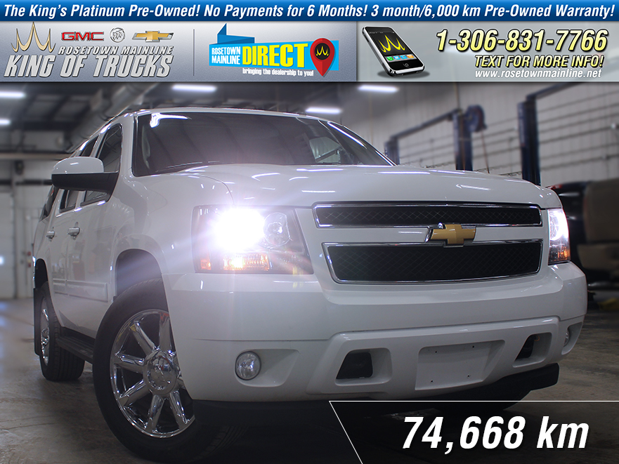 Pre-Owned 2013 Chevrolet Tahoe LT Leather | 8-Passenger | PST Paid AWD