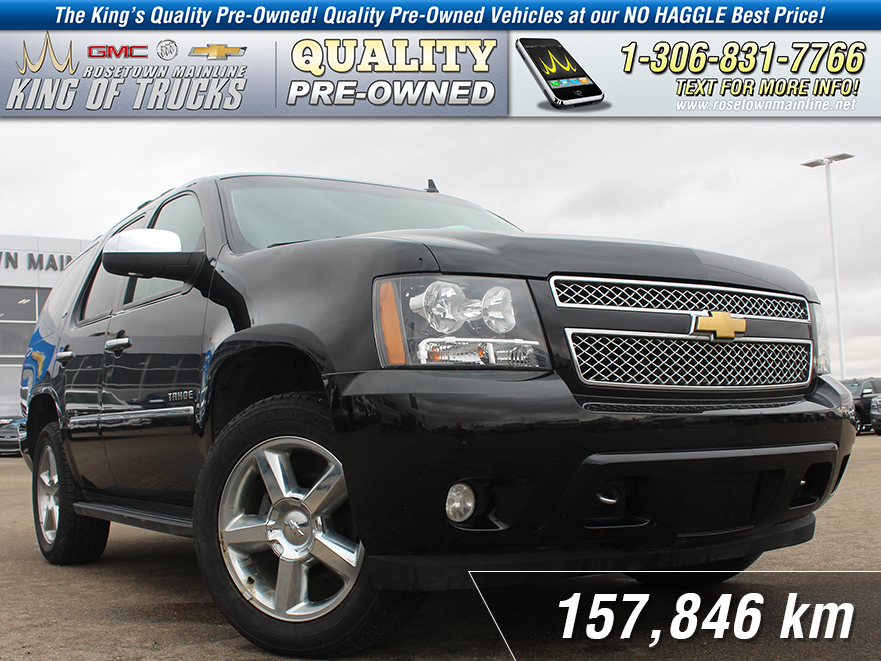 Pre-Owned 2013 Chevrolet Tahoe LTZ Leather | Sunroof | Nav