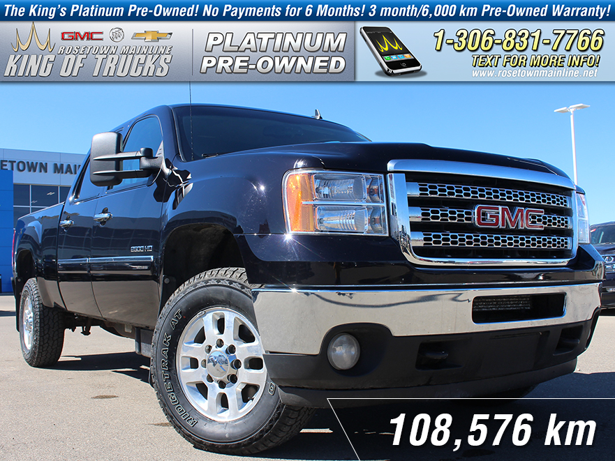 Pre-Owned 2013 GMC Sierra 2500HD SLE Local | One Owner | 6.6L