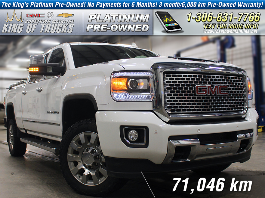 Pre-Owned 2017 GMC Sierra 2500HD Denali One Owner | Leather | 6.6L