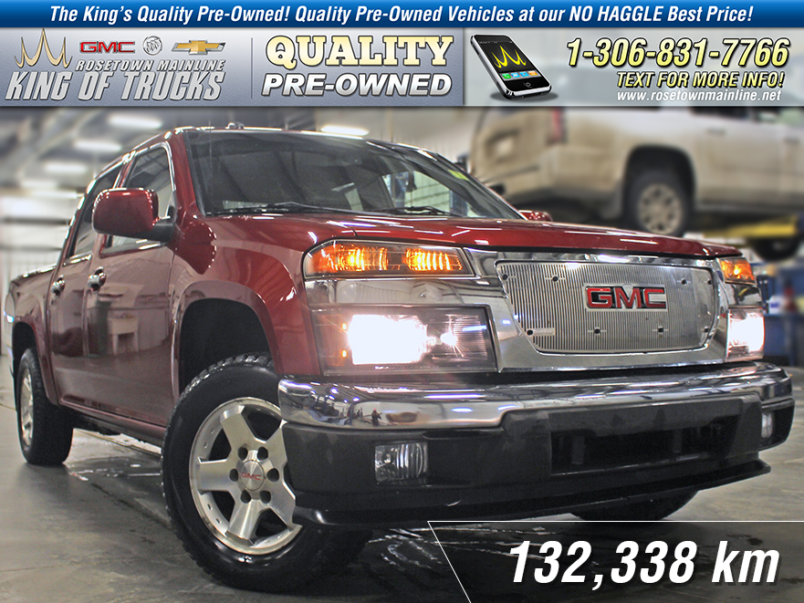 Pre-Owned 2011 GMC Canyon SLE One Owner | Tonneau Cover | Clean SGI