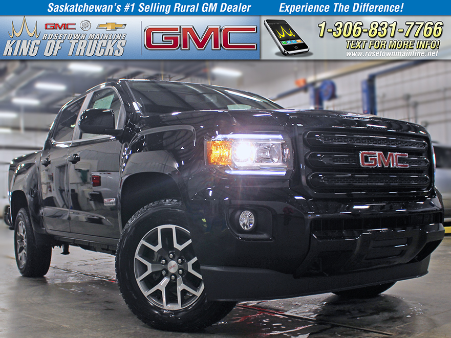"New 2019 GMC Canyon Crew Cab 128.3"" 4WD All Terrain w/Leather"