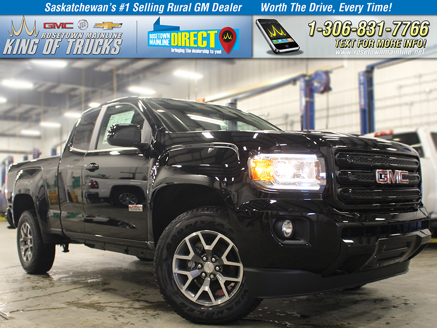 New 2018 GMC Canyon 4WD All Terrain