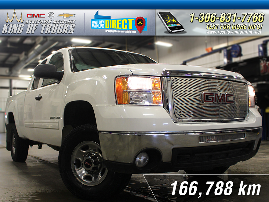 Pre-Owned 2008 GMC Sierra 2500HD 6.0L Gas