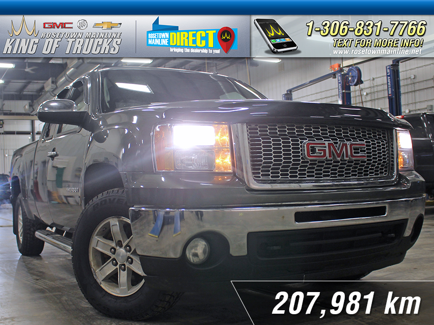 Pre-Owned 2011 GMC Sierra 1500 SLE Local | Ext. Cab | PST Paid