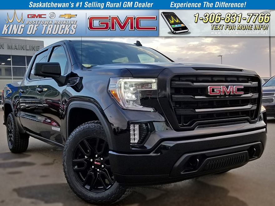 "New 2019 GMC Sierra 1500 2WD Double Cab 147"" Elevation Edition"