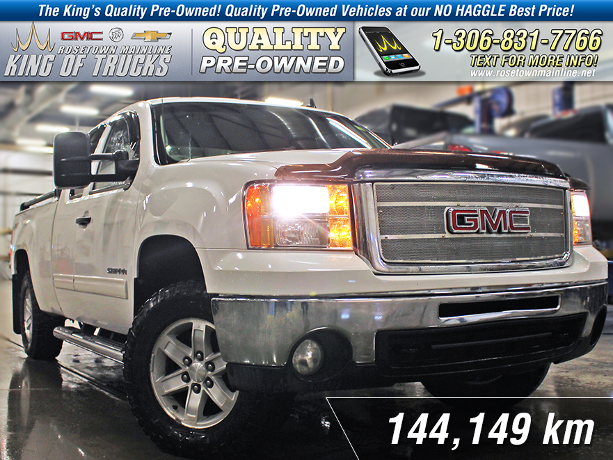 Pre-Owned 2011 GMC Sierra 1500 SLE Extended Cab | 6.2L | Max Trailer Package