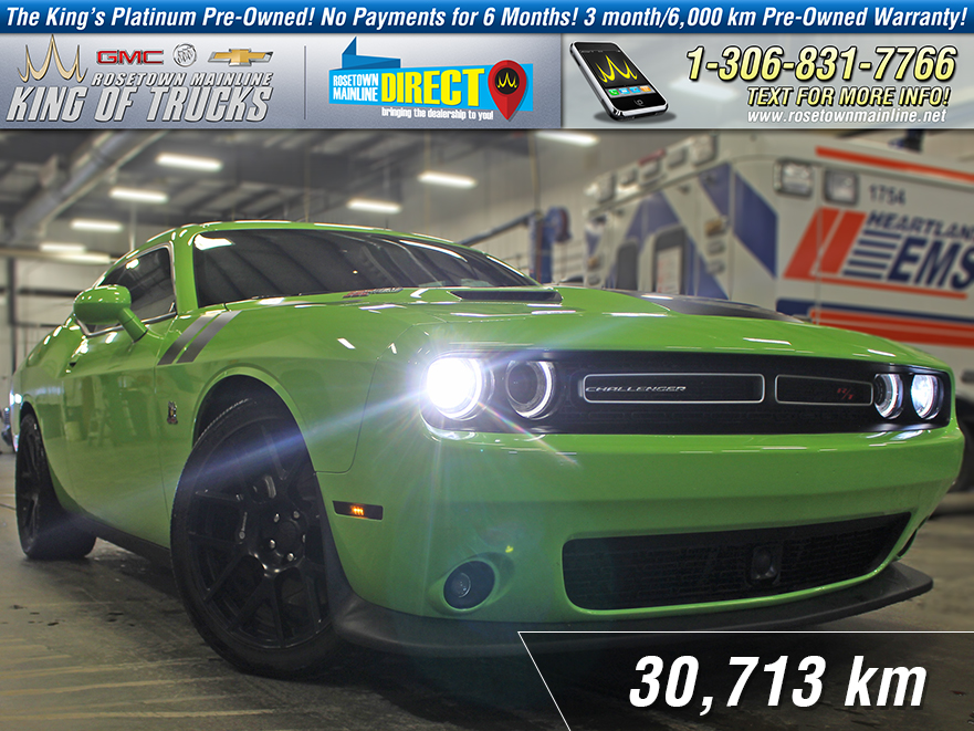 Pre-Owned 2015 Dodge Challenger Scat Pack Leather | Sunroof