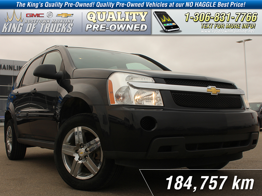Pre-Owned 2008 Chevrolet Equinox LS Local | Remote Start | V6