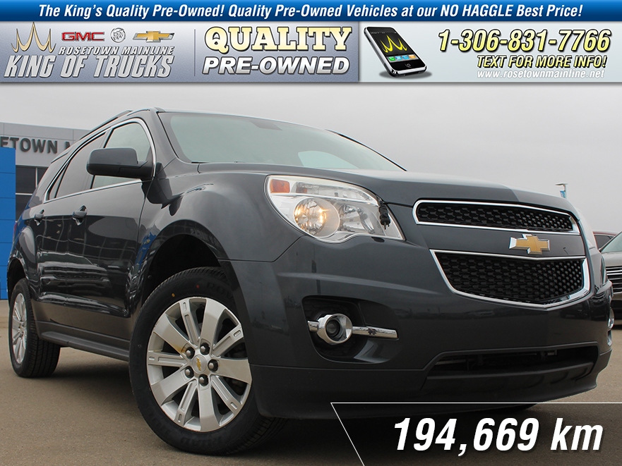 Pre-Owned 2010 Chevrolet Equinox LT Sunroof | New Tires | USB