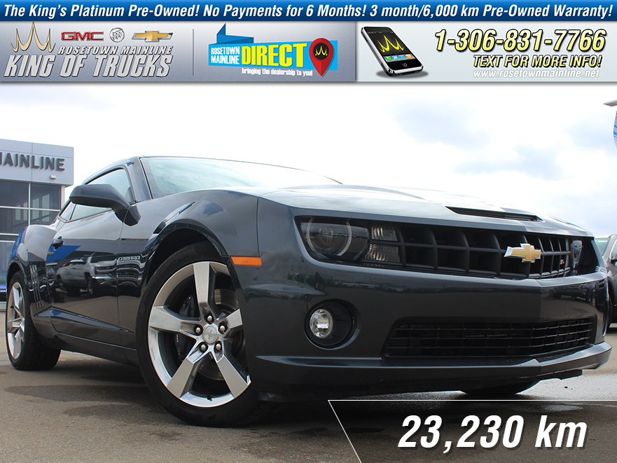 Pre-Owned 2012 Chevrolet Camaro 2SS 6.2L | Leather | Heated Seats
