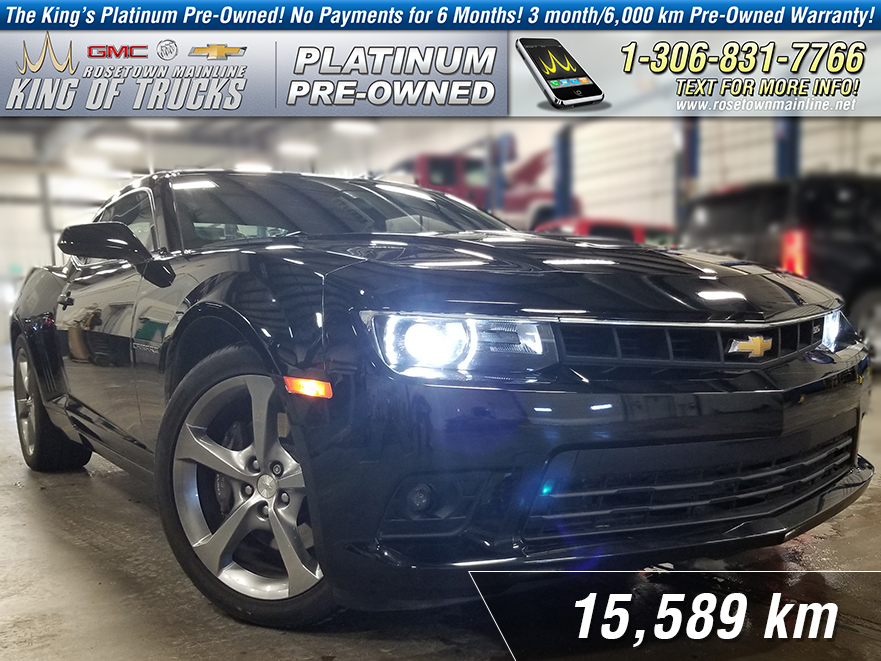 Pre-Owned 2014 Chevrolet Camaro 1SS One Owner | 6.2L | 6-speed Manual