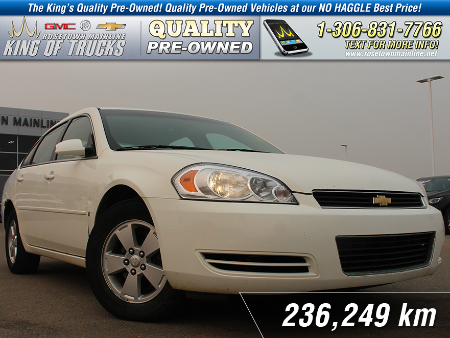 Pre-Owned 2007 Chevrolet Impala LT Leather | Remote Start