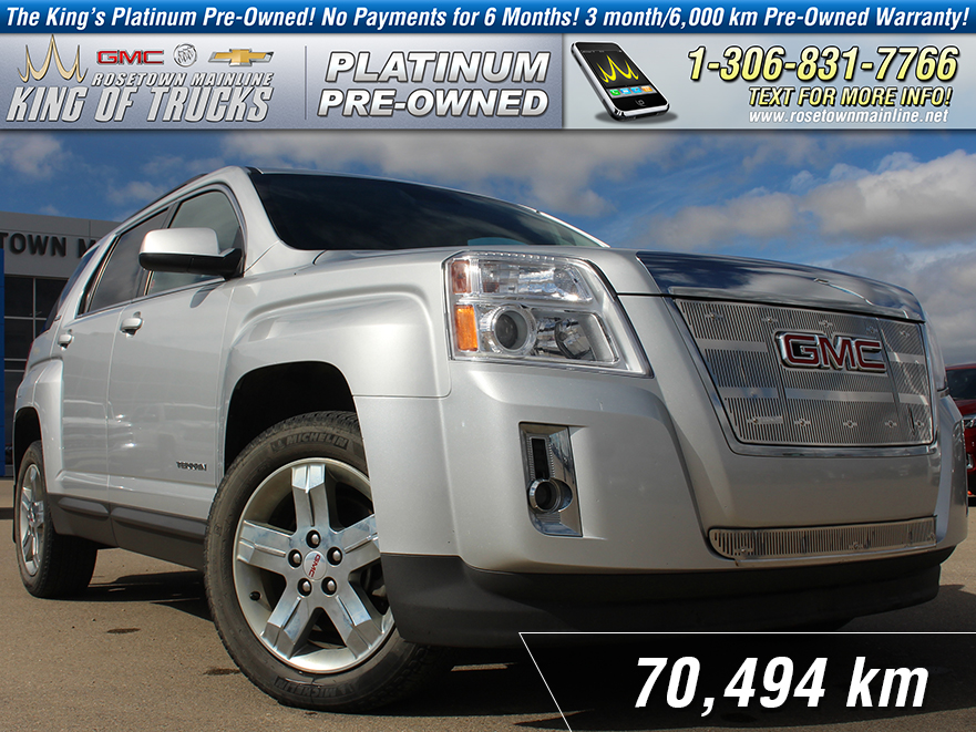 Pre-Owned 2013 GMC Terrain SLE-2 One Owner | Low KM
