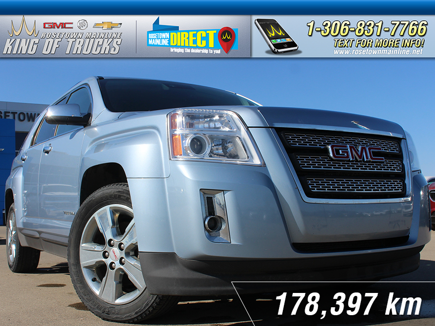 Pre-Owned 2014 GMC Terrain SLT Leather | Heated Seats | One Owner