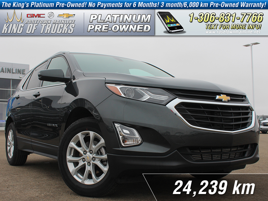 Pre-Owned 2018 Chevrolet Equinox LT Local | One Owner | Sunroof