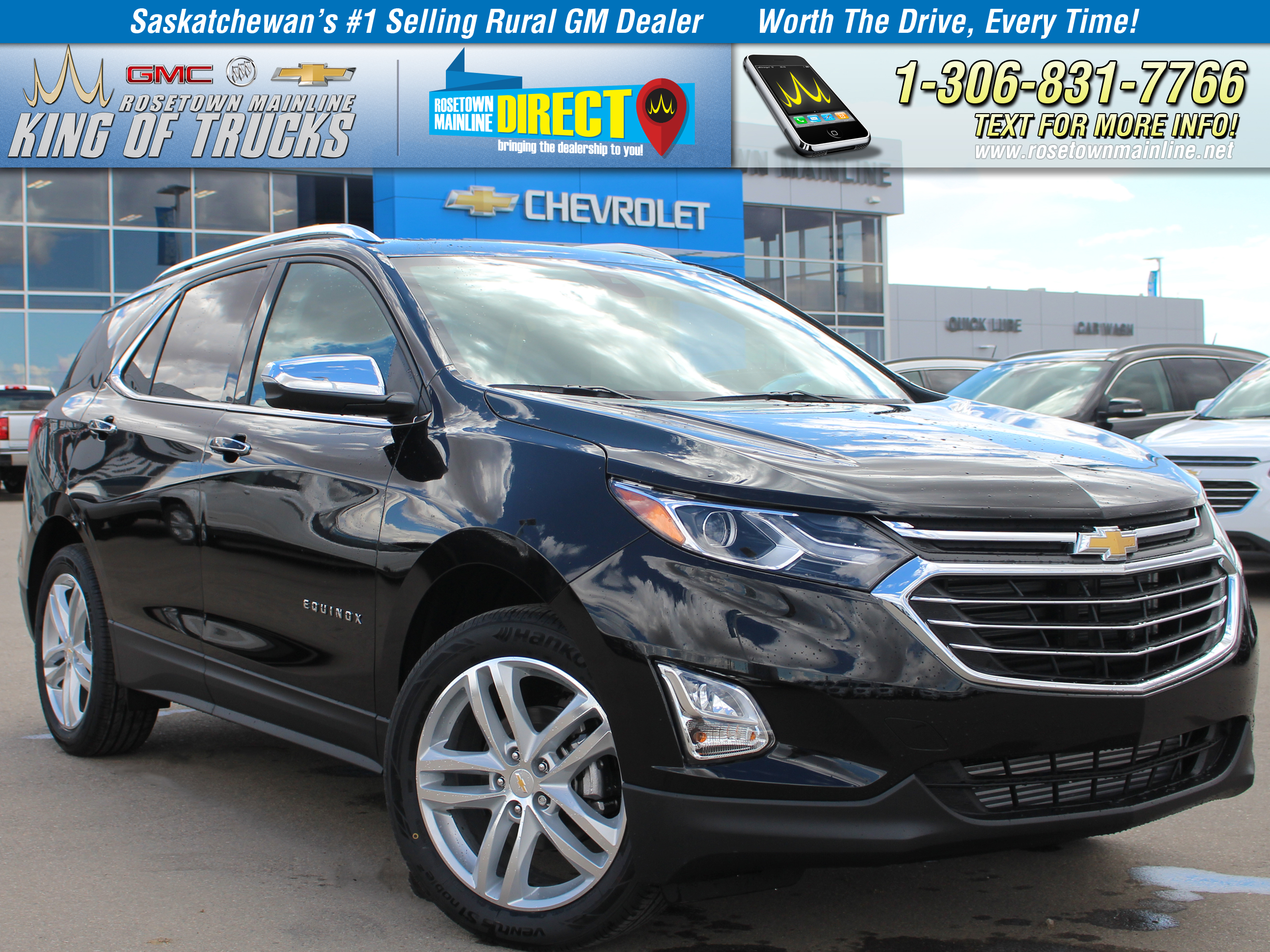 new 2018 chevrolet equinox premier suv in rosetown 55629 rosetown mainline. Black Bedroom Furniture Sets. Home Design Ideas