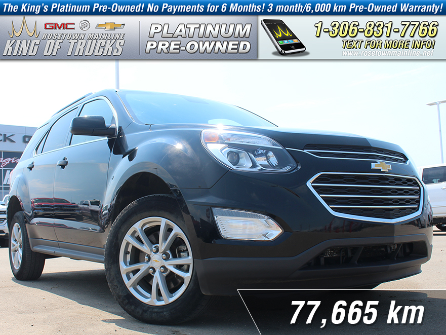 Pre-Owned 2016 Chevrolet Equinox LT Local | One Owner | Nav
