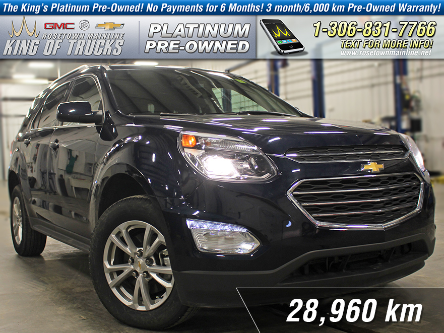 Pre-Owned 2017 Chevrolet Equinox LT Heated Seats | Sunroof | 3.6L