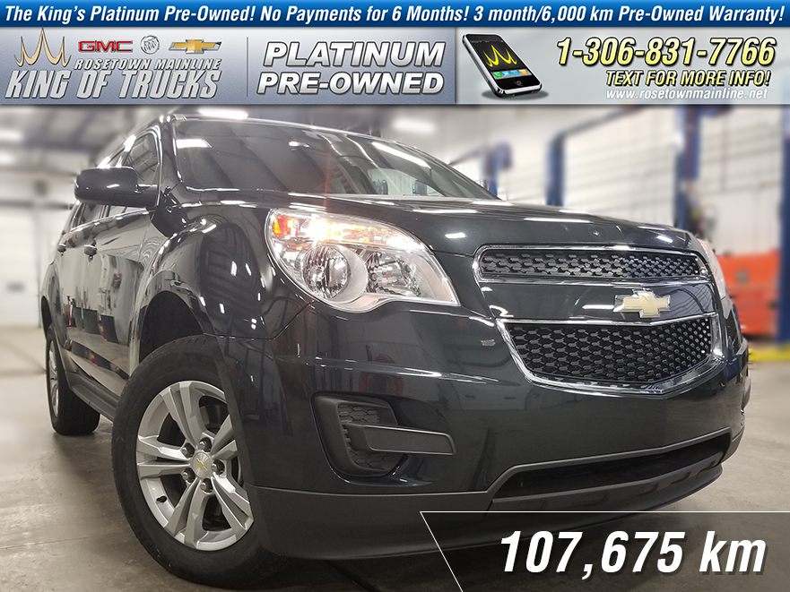 Pre-Owned 2014 Chevrolet Equinox LT Local | Heated Seats