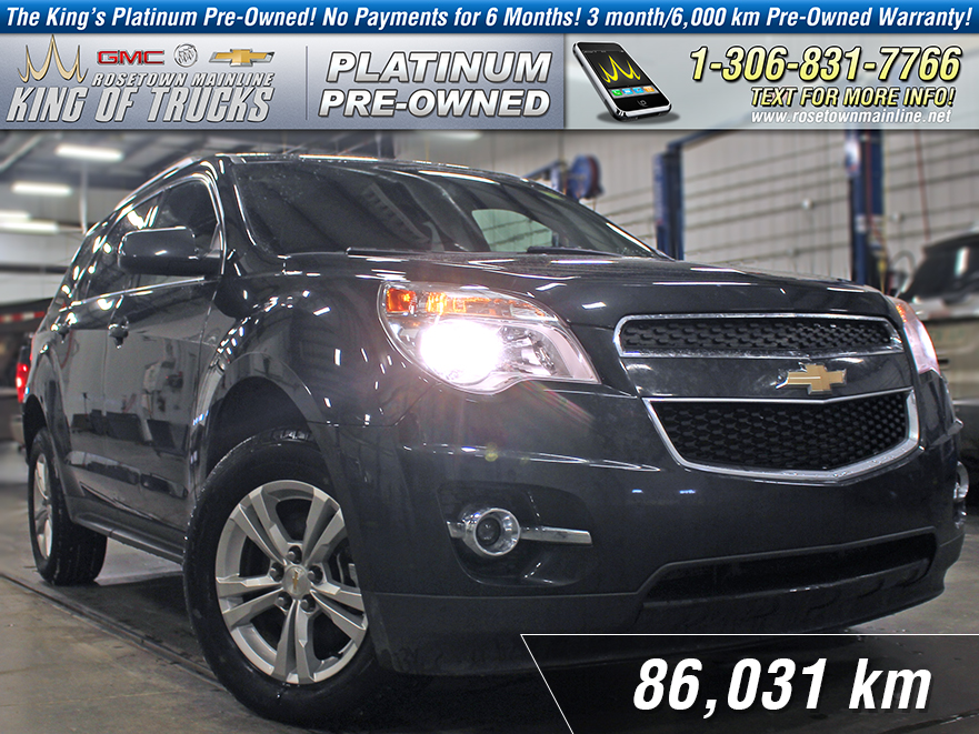 Pre-Owned 2014 Chevrolet Equinox LT Heated Seats | Rear Vision Camera | V6
